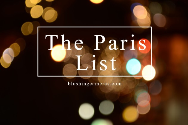 the paris list